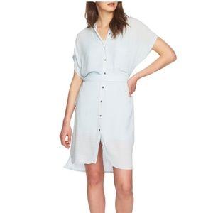 1. State Belted Shirtdress Short Sleeves Dress